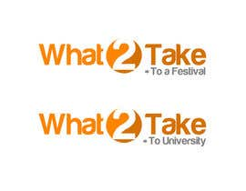 #77 para Design a Logo for What 2 Take por fireacefist