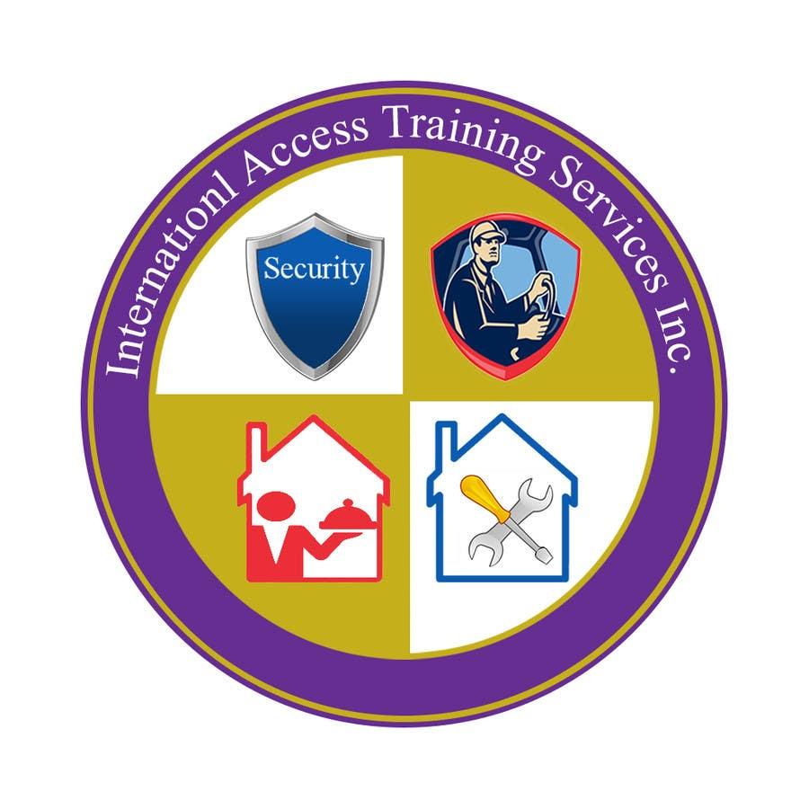 Kilpailutyö #16 kilpailussa Design a Logo for International Access Training Services Inc.