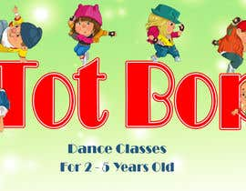 engahmadshrif tarafından Logo design for 'Tot Bop'; dance classes for children aged 2-5. için no 23