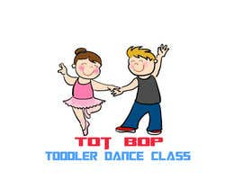 BDesigns1110 tarafından Logo design for 'Tot Bop'; dance classes for children aged 2-5. için no 2