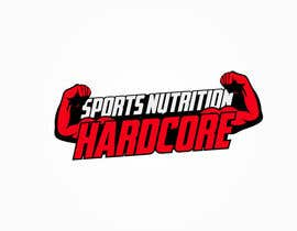 #40 para Design a Logo for Hardcore Sports Nutrition por nixRa