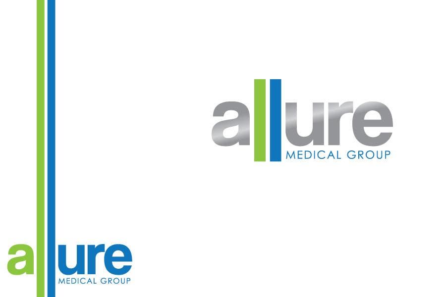 Kilpailutyö #38 kilpailussa New corporate logo for Allure Medical Group