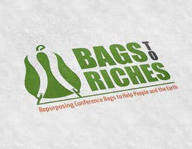 "DanielDesign2810 tarafından Design a Logo for ""Bags to Riches"" için no 74"