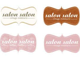 #102 cho Design eines Logos for salon salon - vintage mobiliario bởi MajdGH