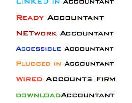 #225 untuk Business name - Accounting firm oleh karlachaffin