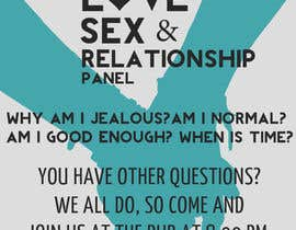 #4 untuk Make a flyer for a love,sex,relationship panel oleh tedstankovich
