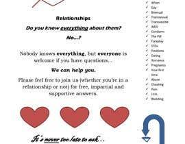 #2 untuk Make a flyer for a love,sex,relationship panel oleh christopherunwin