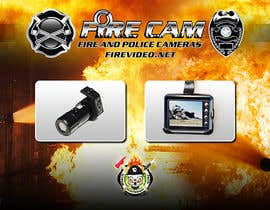 nº 54 pour I need some Graphic Design for our company Fire Cam par elshahat