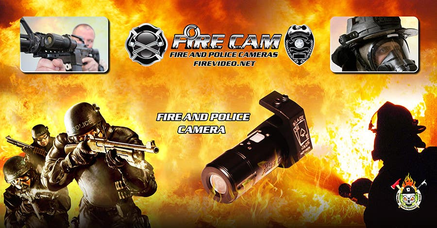 #70 for I need some Graphic Design for our company Fire Cam by elshahat