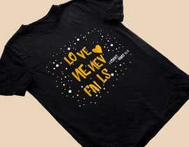 Nro 43 kilpailuun Design a T-Shirt - Love never fails - 1 Corinthians 13:8 käyttäjältä heshamsqrat2013