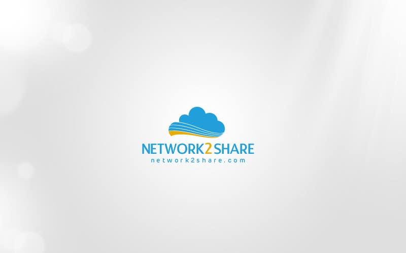 Kilpailutyö #74 kilpailussa Design a Logo for Network2Share (cloud software product)