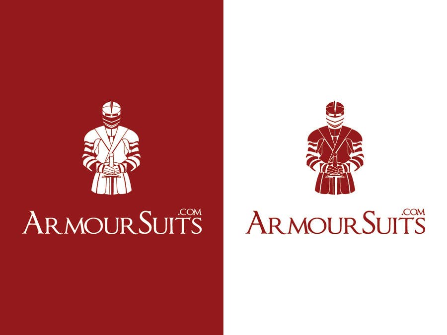 #48 for Design a Logo for Custom Suit Tailoring Company: Armour Suits by winarto2012