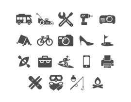 Nro 6 kilpailuun Design some Icons käyttäjältä NikWB