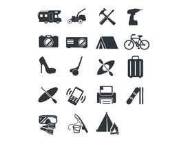 Nro 7 kilpailuun Design some Icons käyttäjältä Christina850