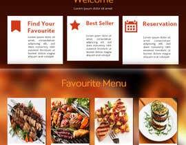 Nro 2 kilpailuun website design for an indian restaurant käyttäjältä rginfosystems