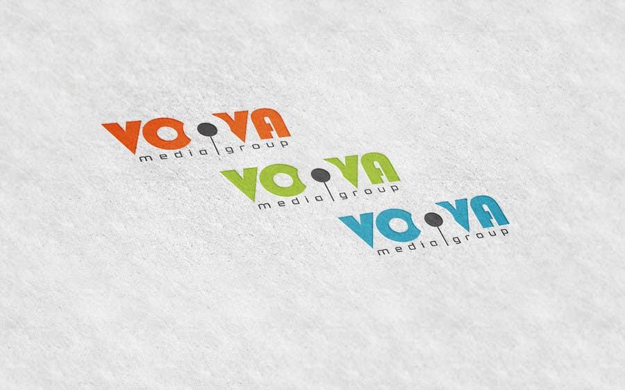 Kilpailutyö #34 kilpailussa Design a Logo for Voova Media Group