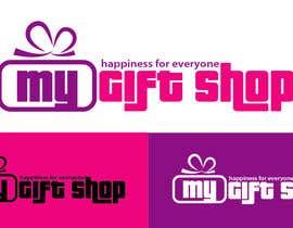 Nro 6 kilpailuun Logo and Tagline for www.mygiftshop.co.za käyttäjältä Mobarok9s