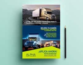 MariaGraciaG tarafından Truck Finance Copmpny -Design a Flyer in Spanish için no 7