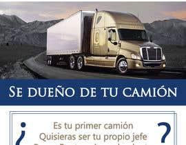 fernandagams tarafından Truck Finance Copmpny -Design a Flyer in Spanish için no 8