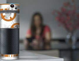 #7 for Create a BB8 or R2D2 type design to be used for a skin for Amazon Echo by AFilipenko