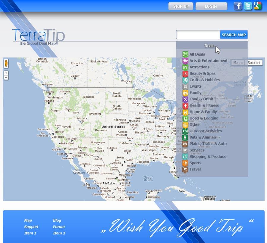 Contest Entry #                                        3                                      for                                         Website Design for TerraTip