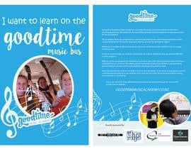 jassna tarafından Basic Flyer for a music school #1 - EASY BRIEF! için no 8