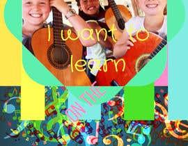 Tamara2016 tarafından Basic Flyer for a music school #1 - EASY BRIEF! için no 6