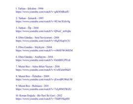 mhristov35 tarafından En iyi 30 Türkce şarkılar için no 6