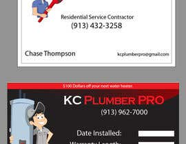 #1 cho Design some Business Cards for KC Plumber Pro bởi Nermushermus