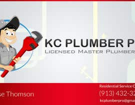 #5 untuk Design some Business Cards for KC Plumber Pro oleh DLS1