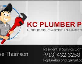 #24 cho Design some Business Cards for KC Plumber Pro bởi DLS1