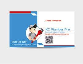 #20 untuk Design some Business Cards for KC Plumber Pro oleh graphics15
