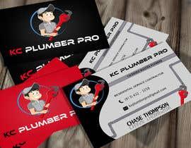 #21 para Design some Business Cards for KC Plumber Pro por cdinesh008