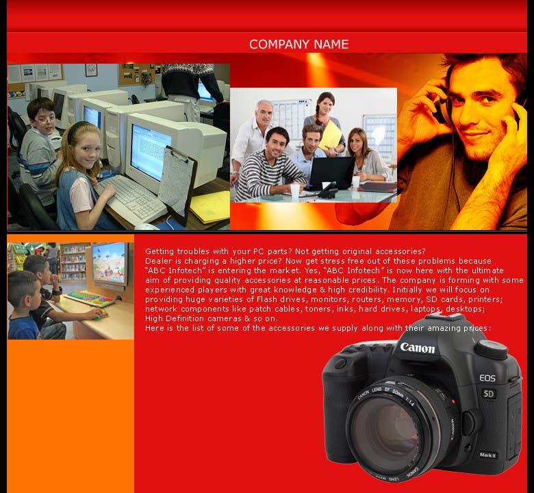 Kilpailutyö #10 kilpailussa Design an Introductory Email