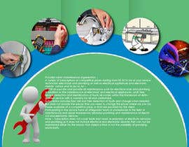 Nro 8 kilpailuun design a brochure for electricity and plumbing small business käyttäjältä zubairfb