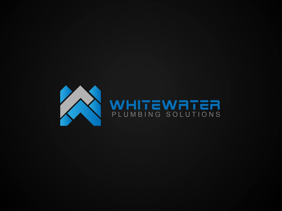 #39 for Design a Logo for White Water Plumbing by nasirmomin95