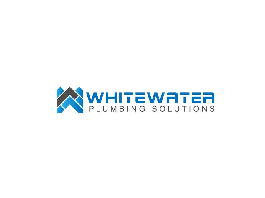 #73 for Design a Logo for White Water Plumbing by nasirmomin95