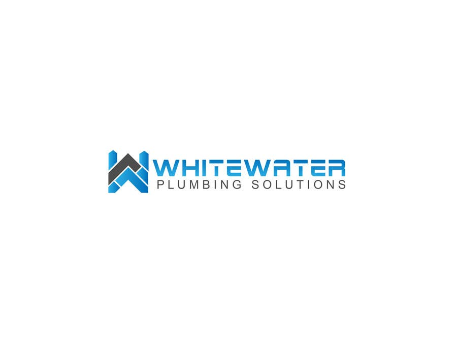 #79 for Design a Logo for White Water Plumbing by nasirmomin95