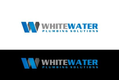 #75 for Design a Logo for White Water Plumbing by Sehban96