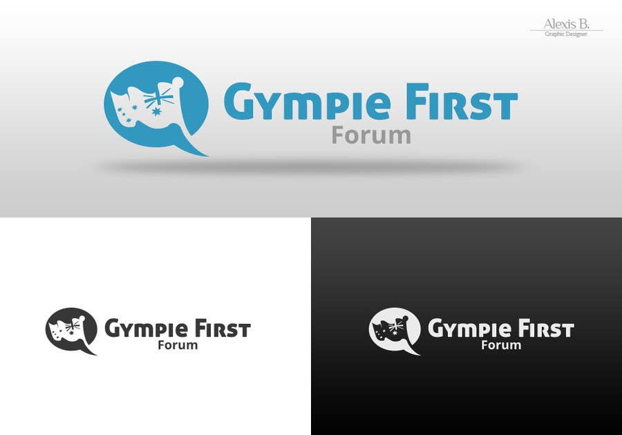 Konkurrenceindlæg #13 for Design a Logo for Gympie First Forums