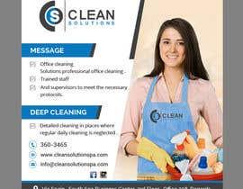 Nro 7 kilpailuun Design a Banner - Cleaning Company käyttäjältä Modeling15