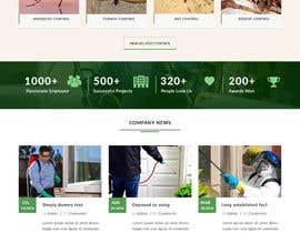 Nro 7 kilpailuun Homepage Design Mockup käyttäjältä webmastersud