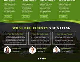 Nro 26 kilpailuun Homepage Design Mockup käyttäjältä sevenservices
