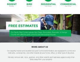 Nro 11 kilpailuun Homepage Design Mockup käyttäjältä sacha1612