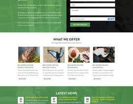 Nro 3 kilpailuun Homepage Design Mockup käyttäjältä davidnalson