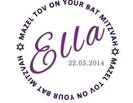nº 11 pour Design a Logo for my daughter's bat mitzvah par Noel966