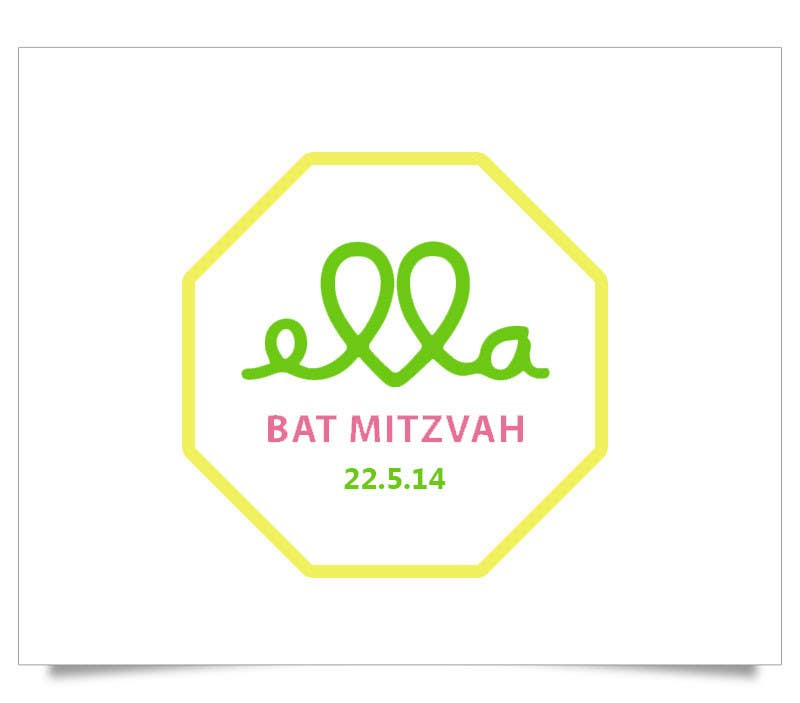 #53 for Design a Logo for my daughter's bat mitzvah by aash1010