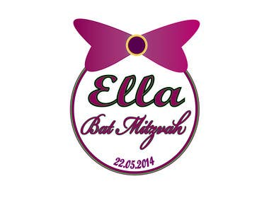 #22 for Design a Logo for my daughter's bat mitzvah by tiselisa