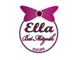 nº 22 pour Design a Logo for my daughter's bat mitzvah par tiselisa