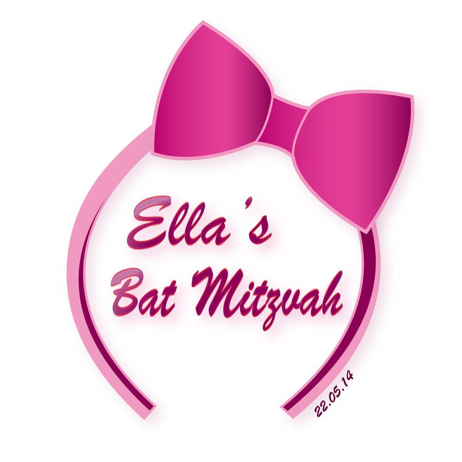 #46 for Design a Logo for my daughter's bat mitzvah by tiselisa